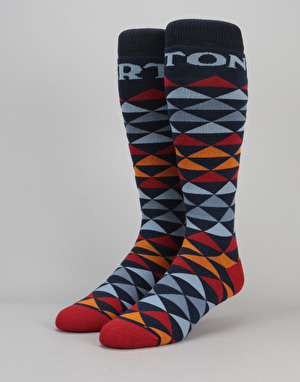 Burton Weekend Two-Pack Snowboard Socks - LA Sky
