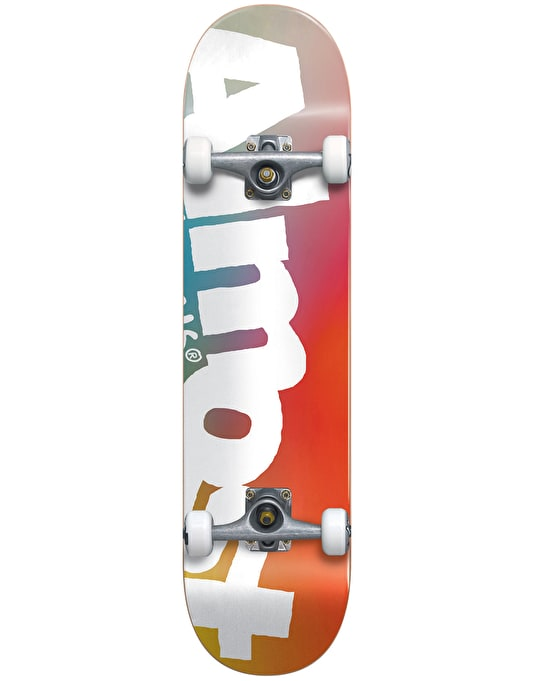 Almost Side Pipe Fade Mid Complete Skateboard - 7.375""
