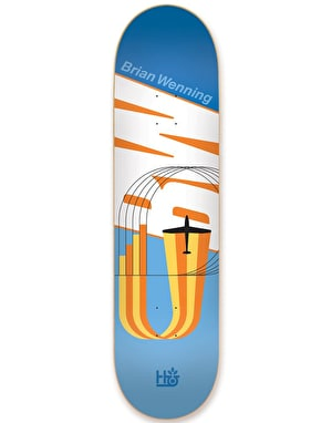 Habitat Wenning Coexist Re-issue Pro Deck - 8
