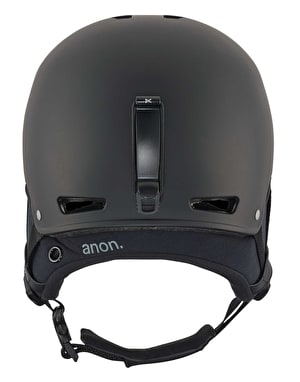 Anon Striker 2018 Snowboard Helmet - Black