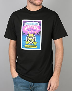 Santa Cruz x Garbage Pail Kids Radioactive Rob T-Shirt - Black
