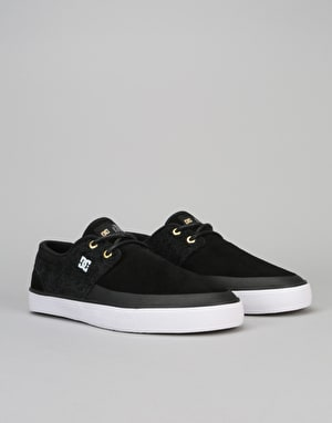 DC Wes Kremer 2 S Skate Shoes - Black/White/Black