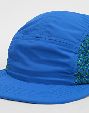 Butter Goods 5 Panel Camp Cap - Royal/Green