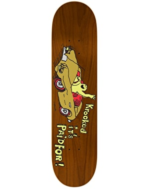 Krooked Sebo Paid For Love Pro Deck - 8.06