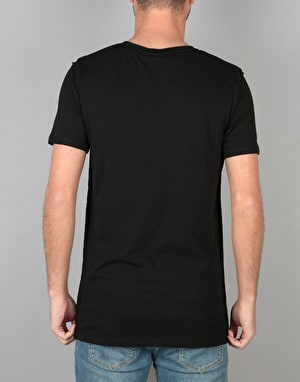 Hype Inside Out Crest T-Shirt - Black