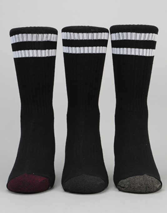 Globe Carter Crew Socks 5 Pack - Assorted