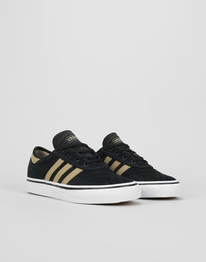 Adidas Adi-Ease Premiere Womens Trainers - Core Black/Raw Gold/White