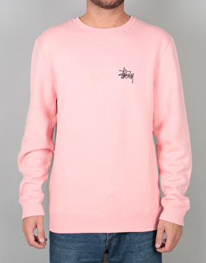 Stüssy Basic Stüssy Crew - Dusty Rose