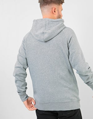 Etnies Core Icon Box Zip Hoodie - Grey Heather