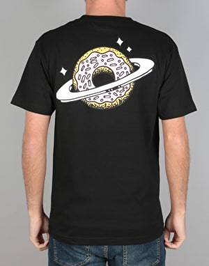 Skateboard Café Planet Donut T-Shirt - Black