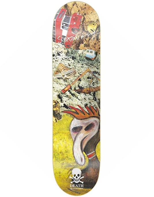 Death Sexton Ming Plague Duck Deck - 8""