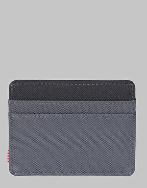 Herschel Supply Co. Charlie RFID Card Holder - Dark Shadow/Black