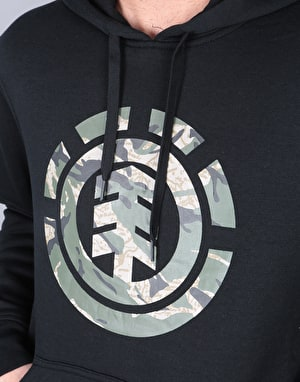 Element Mimic Pullover Hoodie - Flint Black