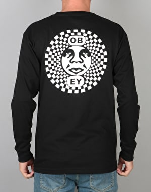 Obey Dance Party L/S T-Shirt - Black