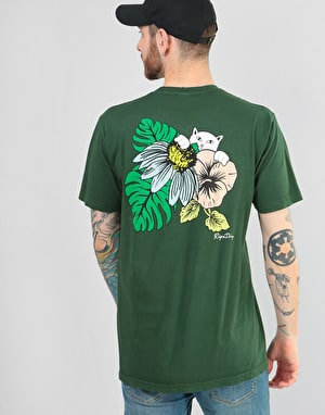 RIPNDIP Tropicalia T-Shirt - Hunter Green