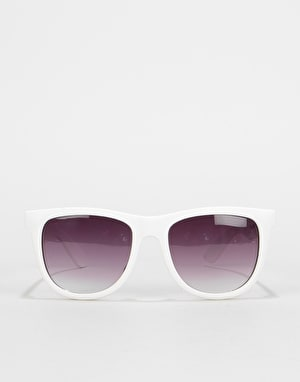 Santa Cruz Classic Strip Sunglasses - White
