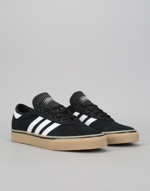 Adidas Adi-Ease Premiere Skate Shoes - Core Black/White/Gum