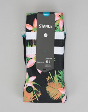 Stance Lundy Classic Crew Socks - Black