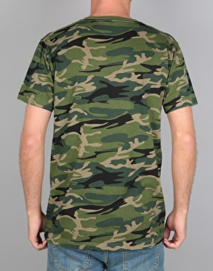 RIPNDIP Lord Nermal Pocket T-Shirt - Green Camo