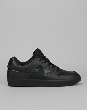 Nike SB Delta Force Vulc Skate Shoes - Black/Black-Anthracite