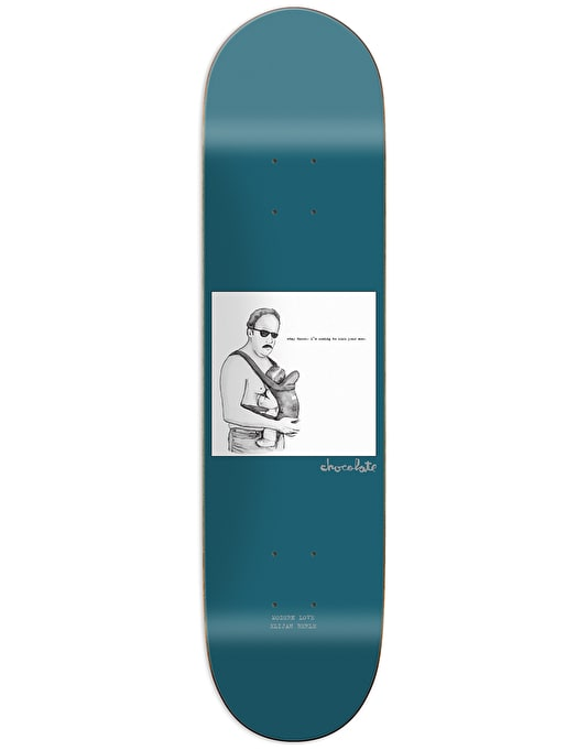 Chocolate Berle Modern Love Skateboard Deck - 8""