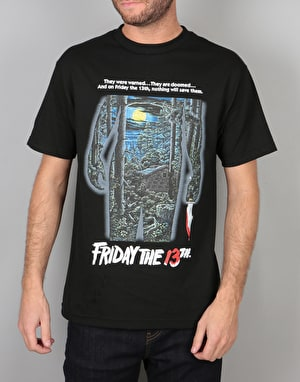The Hundreds x Friday The 13th Poster T-Shirt - Black