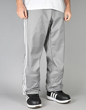 Adidas Lazy Man Softshell 2018 Snowboard Pants - Core Heather/White