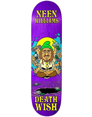 Deathwish Neen Happy Place Skateboard Deck - 8.125
