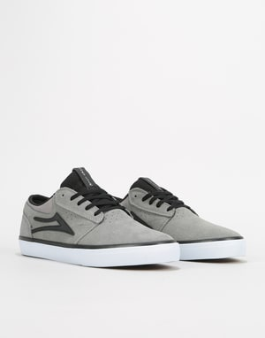 Lakai x Hard Luck Griffin Skate Shoes - Grey/Black Suede