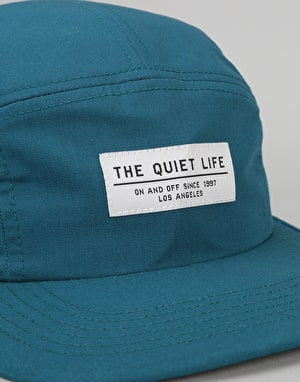 The Quiet Life Foundation 5 Panel Cap - Caribbean Blue