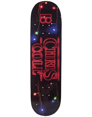 Plan B Cole 011 BLK ICE Skateboard Deck - 8.5