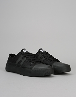 HUF Hupper 2 Lo Skate Shoes - Black/Black