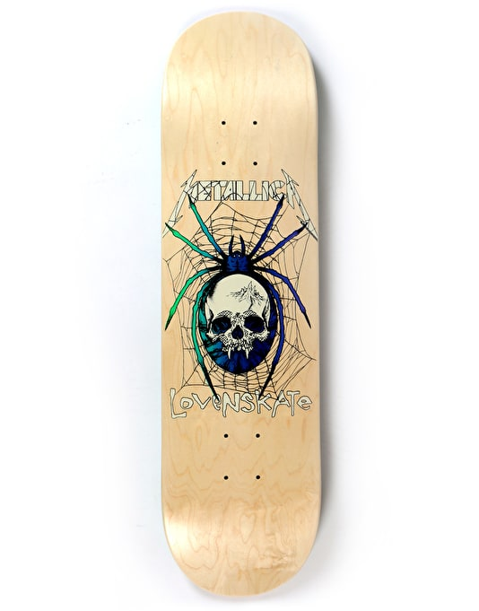 Lovenskate x Metallica Spider Ltd Deck - 8.25""