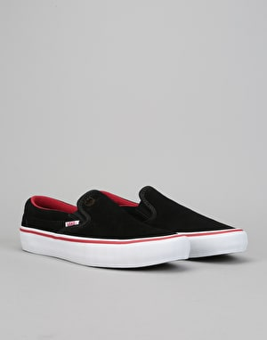 Vans Slip-On Pro Skate Shoes - (Spitfire) Van Der Linden/Black