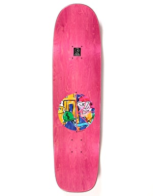 Polar Herrington Debacle Skateboard Deck - P1 Shape 8.75