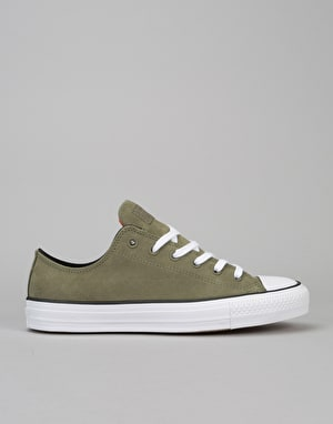 Converse CTAS Pro Ox Skate Shoes - Fatigue Green
