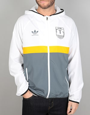 Long Live Southbank x Adidas Jacket - White/Yellow/Grey