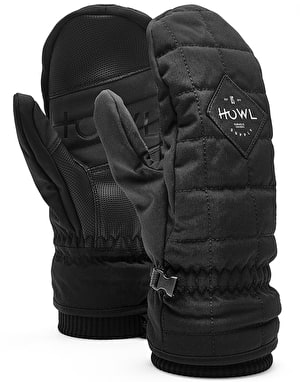 Howl Jed 2018 Snowboard Mitts - Black
