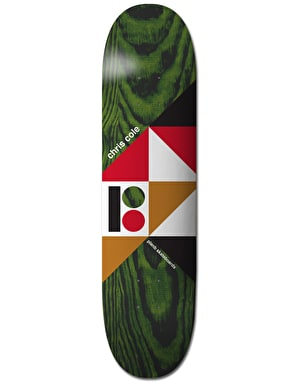 Plan B Cole Geometrics Skateboard Deck - 8.25