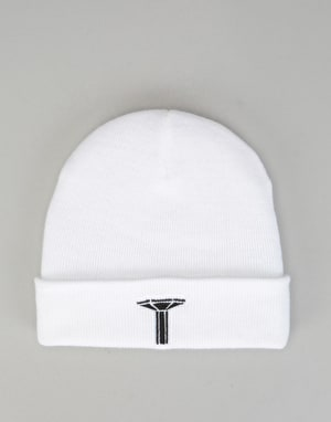 Long Live Southbank LLSB Pillar Beanie - White/Black