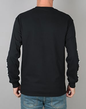 Skate Mental Trendy Logo L/S T-Shirt - Black
