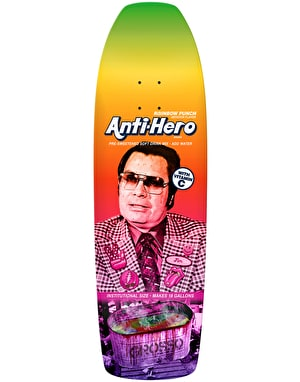 Anti Hero Grosso Pre-Sweetened Rainbow Punch Skateboard Deck - 10.1