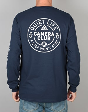 The Quiet Life Won't Stop L/S T-Shirt - Navy