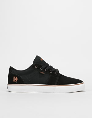 Etnies Barge LS Skate Shoes - Black/Bronze