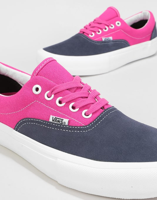 Vans Era Pro Skate Shoes - Navy/Fuchsia