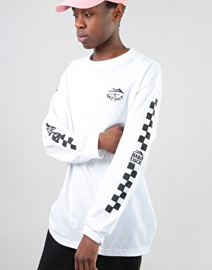 Lakai x Hard Luck Eat Shit L/S T-Shirt - White
