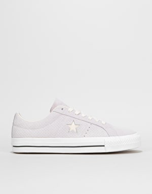 Converse One Star Pro Ox Skate Shoes - Barely Grape/Driftwood/White