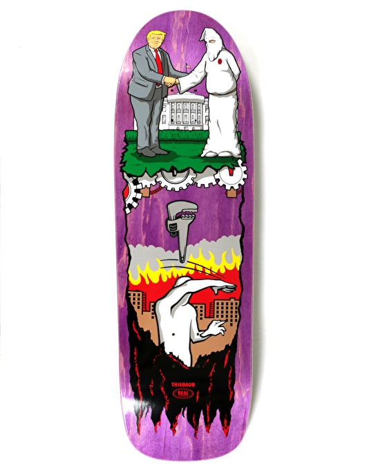 Real Thiebaud Wrench Justice Pro Deck - 9.78""