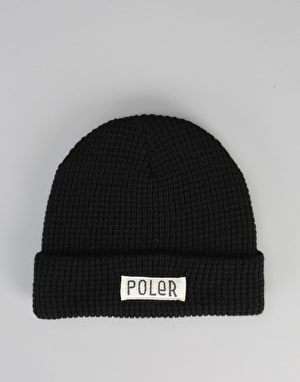 Poler Workerman Beanie - Black
