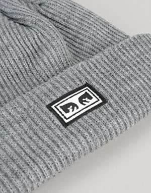 Obey Subversion Beanie - Heather Grey